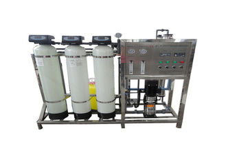 High Efficiency 250LPH RO Water Treatment Plant Commercial / Industrial